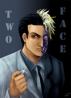 Two Face by d00li