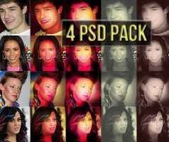 4 PSD PACK by sleazyicons