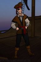 LSC: Pirate Wanna Cracker? Pic 1/3 by JakkalWolf