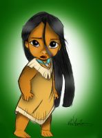 Little Pocahontas by Daviskingdom