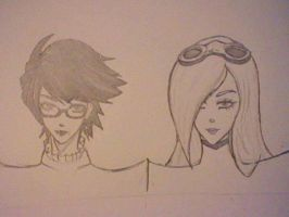 Bayonetta And Jeanne by op33zzy
