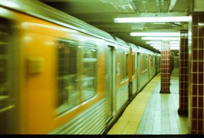 Busy Subway by LeftSideOfRight