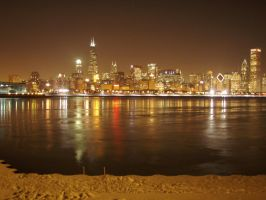 Chicago glitters by EdenUnderFallout