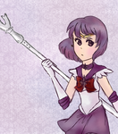 .:Sailor Saturn:. by Bleached-Potato