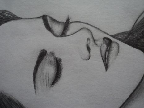 Bella Cullen as a vampire -close-up- by Freezingforheat