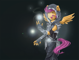 Scootaloo [commission] by RedheadFly