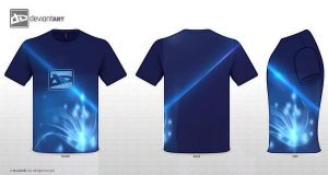 2nd entry t-shirt logo Design by janisar22