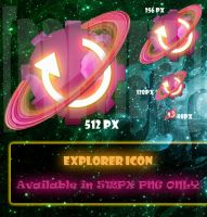 Explorer Icon by 878952