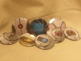 Portal Button Set by Fluffbutt-Designs