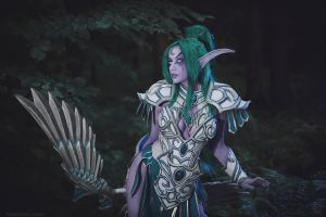 Tyrande - High Priestess of Elune by Narga-Lifestream