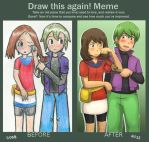 Draw this again:: meme by SkiM-ART