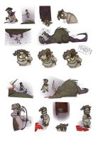 rat attack by enolianslave