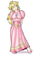 Peach's Stance (2003) by kmlkreations