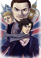 Sherlock by whitespirit