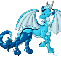 Western Dragon Gleam by WaterGleam