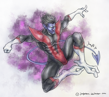 IllustriousBits Week 15 - Nightcrawler by JomanMercado