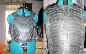 Leather drow armor by Faydarentar