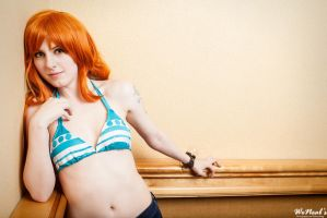 Nami Swan - Casual by DarkFelicia
