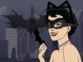 Dark Knight Rises Selina Wallpaper by CodeAndReload