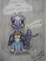 Pewdiepie vs Ao Oni by Top-Hat-Wolf