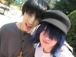 Murdoc and Noodle 4 by clockworkcosplay