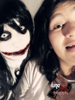 Jeff the killer cosplay-Go to sleep by haozeke93