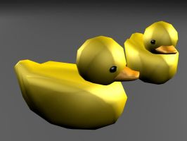Rubber Duckie by moeuf