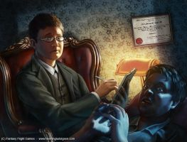 Cthulhu - Professional Counselor by henning