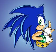 Sonic 25 by footman