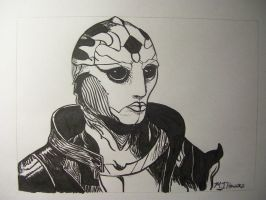 Thane Krios by whitekratoswolf