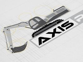 Axisparts Corporate and Brand Identity by Lemongraphic