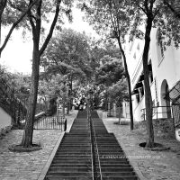 Stairs of Montmartre by Simina31