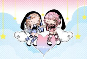 Bunny Love 8D by Crissey