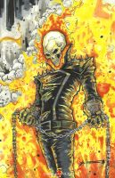 Ghost Rider by ChrisOzFulton