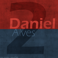 2. Daniel Alves by w6n3oshaq