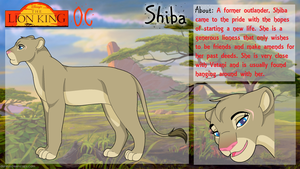 Shiba - Lion King OC by Midnyte-Wolff