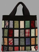Plaid Bag by suedollinQuilts