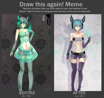 draw this again meme v3 by lackless