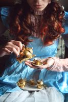 Tea Party by HeathenHeart
