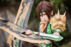 Dynasty Warriors - Guan Xing by Shazzsteel