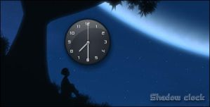 Shadow clock_gadget by relhom