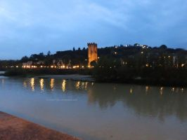 Tower by the Arno River by ShipperTrish