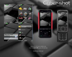 Cyber-Shot Nokia Theme by snm-net