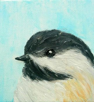 Chickadee by PineMelons