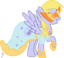 Picture Perfect Derpy by Hourglass-Vectors