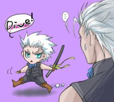 mini  Vergil by sandersonia