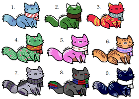 Kitten Patch 2 points each :CLOSED: by xRainbow-adoptsx