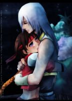 Riku and Seiya: Embrace by annria2002
