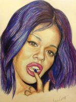 Azealia Banks by bengray94