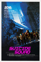 Suicide Squad Poster John Carpenter Style by MessyPandas